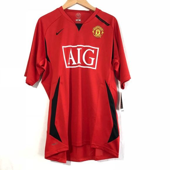 268f7ffbd Nike Shirts | Nwt Fit Dry Manchester United Aig Soccer | Poshmark